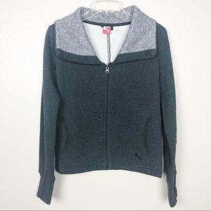 Puma zip up jacket M